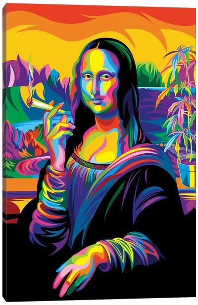Mona Lisa Canvas Art Print
