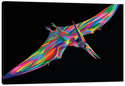 Pterodactyl Canvas Art Print