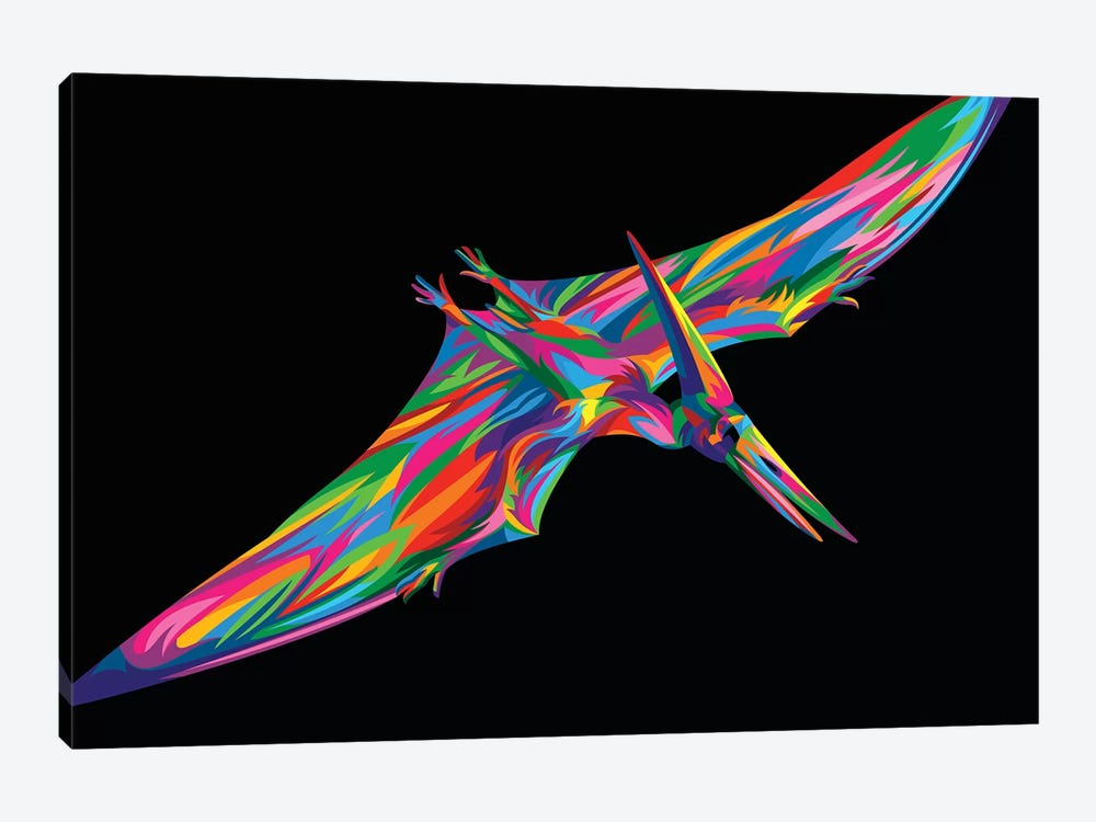 Pterodactyl 1-piece Canvas Print