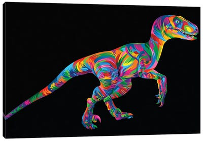 Raptor Canvas Art Print