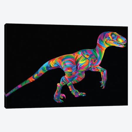 Raptor Canvas Print #BWE13} by Bob Weer Art Print