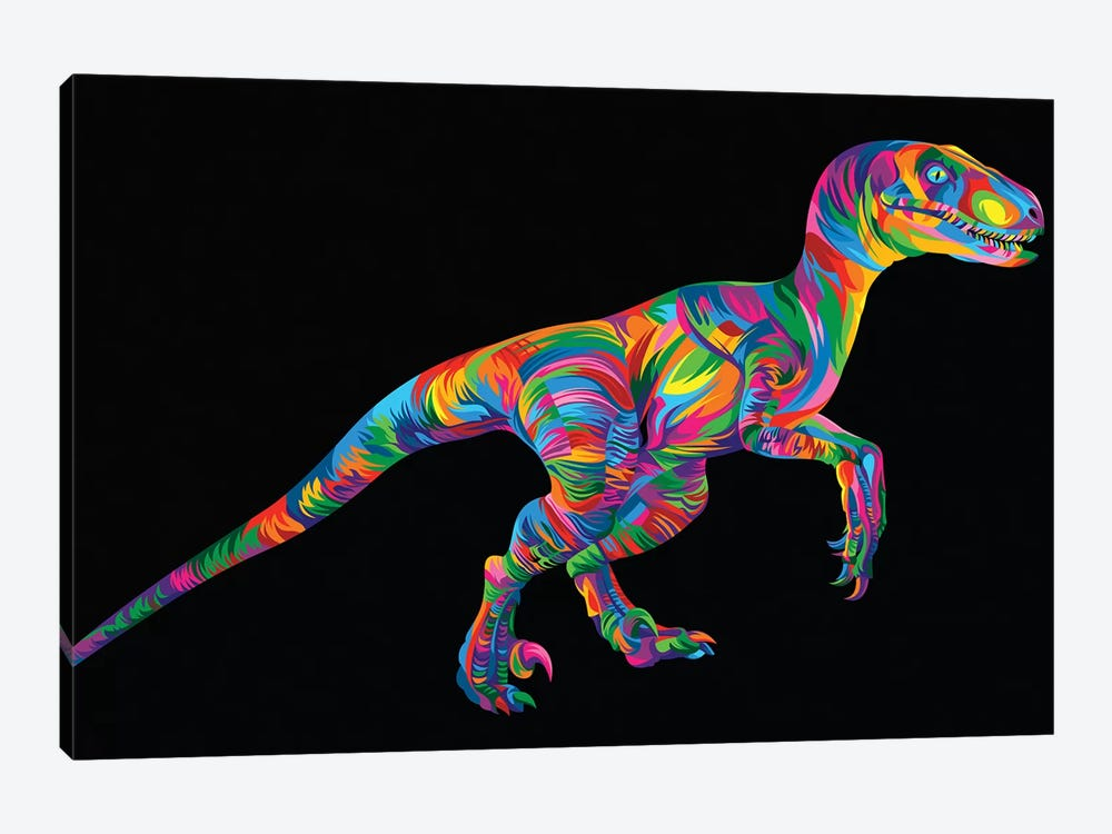 Raptor 1-piece Canvas Art