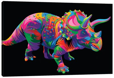 Triceratops Canvas Art Print