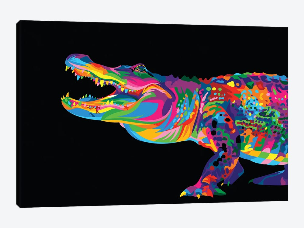Alligator by Bob Weer 1-piece Art Print