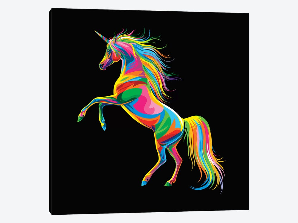 Unicorn by Bob Weer 1-piece Canvas Artwork