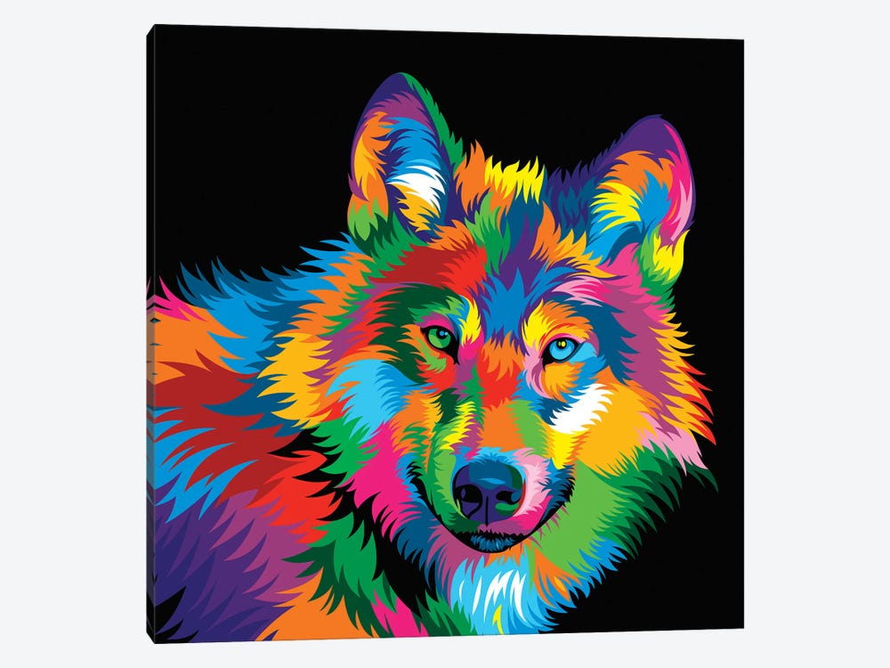 Wolf by Bob Weer 1-piece Canvas Print