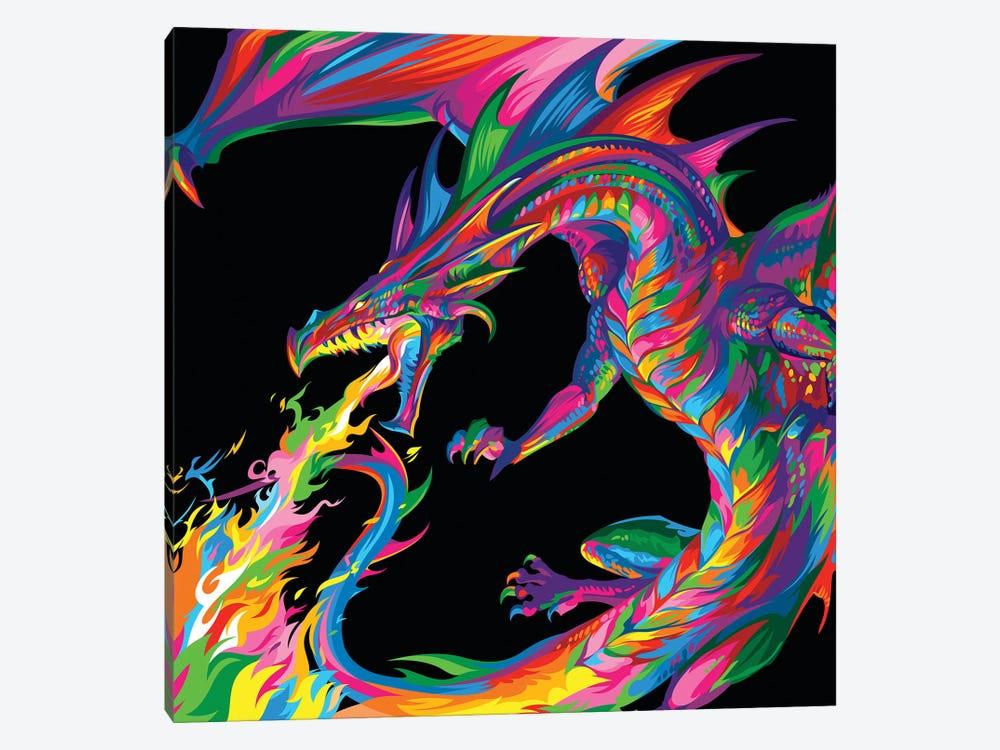 Fantasy Dragon by Bob Weer 1-piece Canvas Art