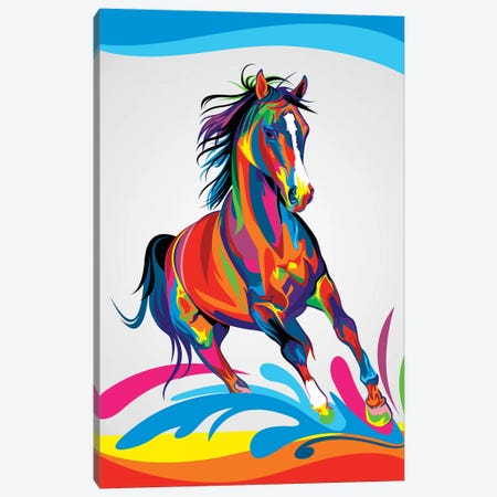 Horse Canvas Print #BWE7} by Bob Weer Canvas Print