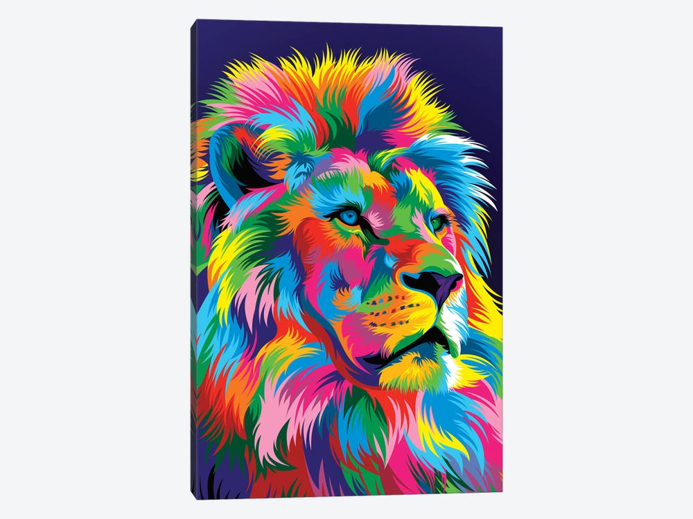 Lion New by Bob Weer 1-piece Canvas Art