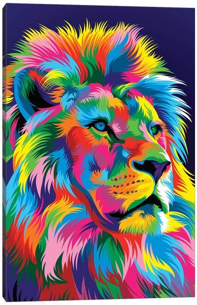 Lion New Canvas Art Print