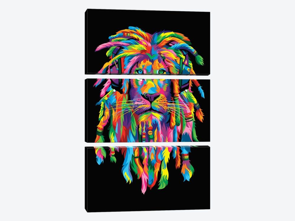 Lion Rasta by Bob Weer 3-piece Art Print