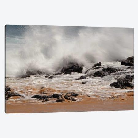Crashing Waves Canvas Print #BWF100} by Brian Wolf Canvas Art Print
