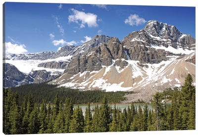 Crowfoot Glacier Canvas Art Print
