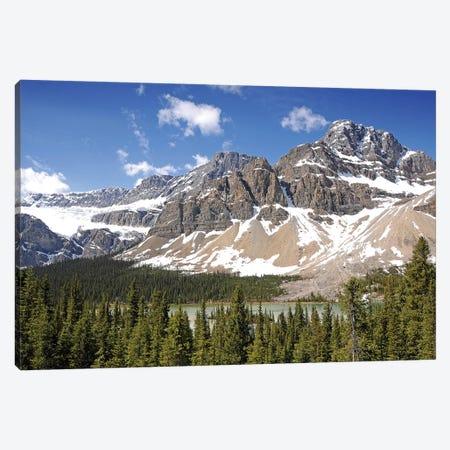 Crowfoot Glacier Canvas Print #BWF101} by Brian Wolf Art Print