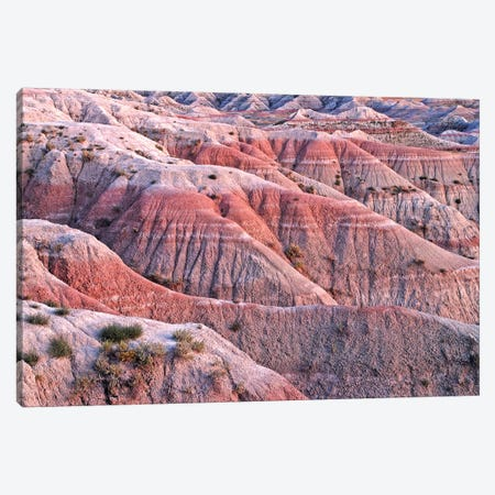 Dusk Colors Of The Badlands Canvas Print #BWF106} by Brian Wolf Canvas Artwork