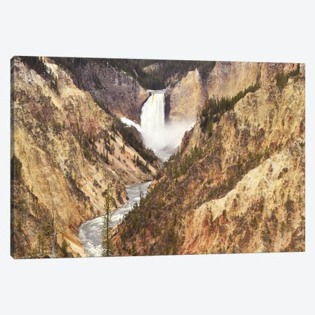 Lower Falls Canvas Print #BWF190} by Brian Wolf Canvas Artwork