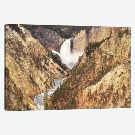 Lower Falls Canvas Print #BWF190} by Brian Wolf Canvas Artwork