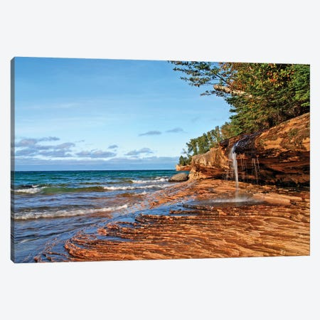 Miners Beach Canvas Print #BWF200} by Brian Wolf Canvas Artwork