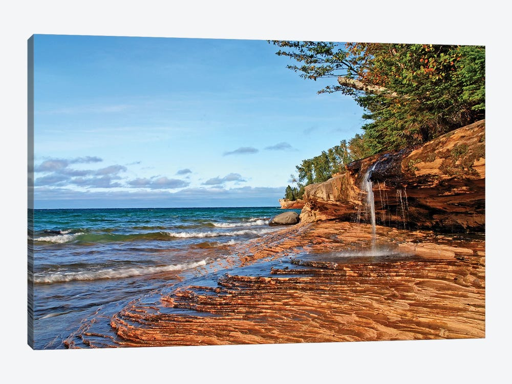 Miners Beach 1-piece Canvas Art