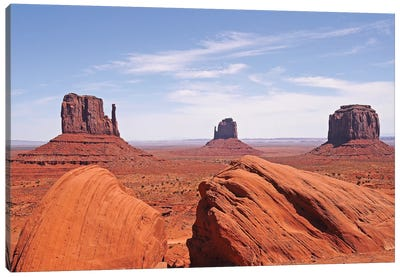 Monument Valley Canvas Art Print