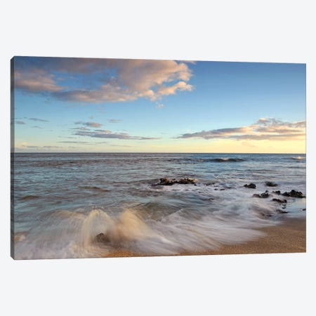 Salt Pond Beach Canvas Print #BWF272} by Brian Wolf Art Print