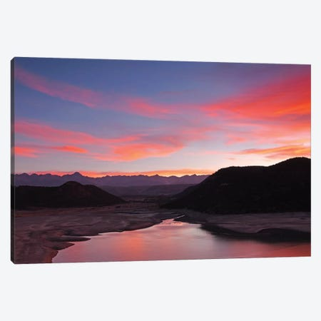 San Juan Mountain Sunset 3-Piece Canvas #BWF274} by Brian Wolf Canvas Wall Art