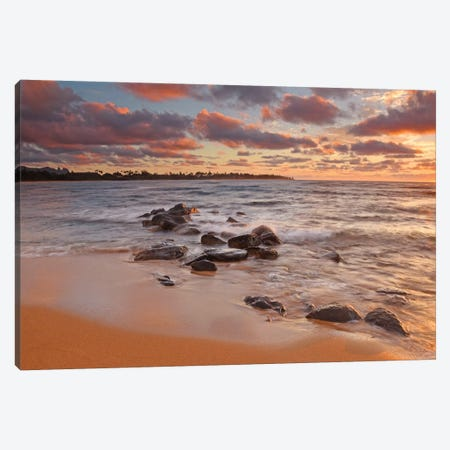 Sunrise On Kauai Canvas Print #BWF321} by Brian Wolf Art Print