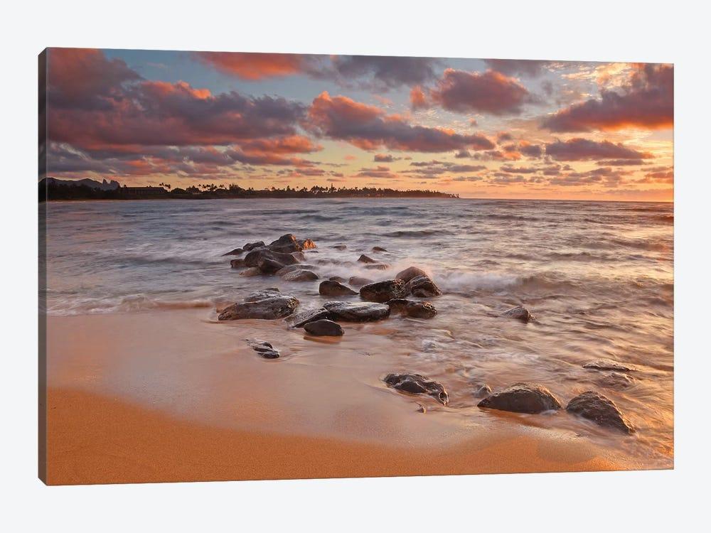 Sunrise On Kauai by Brian Wolf 1-piece Canvas Art