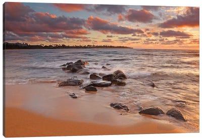 Sunrise On Kauai Canvas Art Print