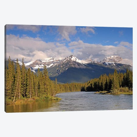 The Canadian Rockies Canvas Print #BWF339} by Brian Wolf Canvas Art