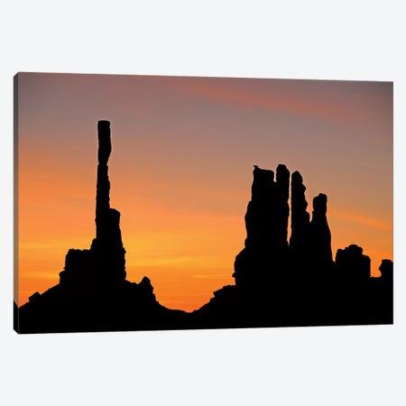 Totem Pole Sunrise Canvas Print #BWF348} by Brian Wolf Canvas Print