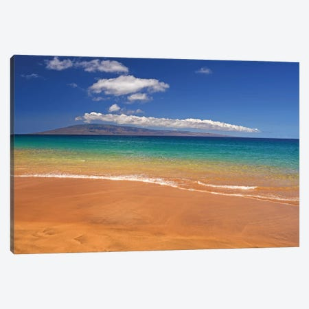 Tropical Beach Canvas Print #BWF351} by Brian Wolf Canvas Art