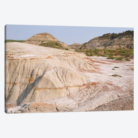 Badlands Colors Canvas Print #BWF35} by Brian Wolf Art Print