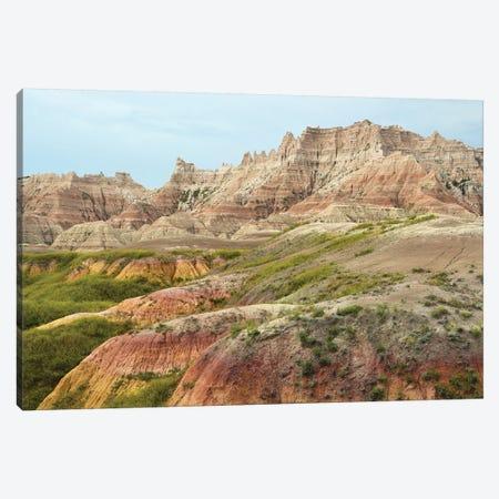 Badlands Gumdrops Canvas Print #BWF398} by Brian Wolf Canvas Artwork