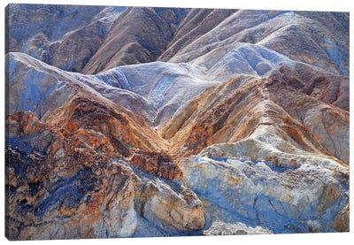Death Valley Badlands Canvas Art Print