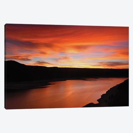 Colorado Sunset Canvas Print #BWF90} by Brian Wolf Canvas Artwork