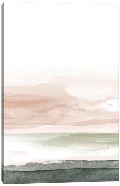 Pink Blush Landscape No. 1 Canvas Art Print