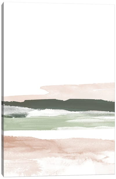 Pink Blush Landscape No. 2 Canvas Art Print