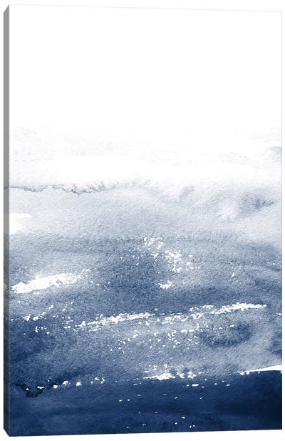 The Deep Blue Canvas Art Print