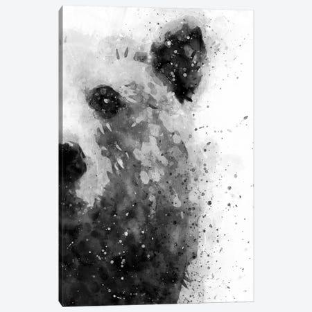 Bear At Attention Canvas Print #BWO1} by Brandon Wong Canvas Artwork