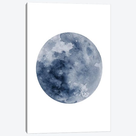 Blue Moon Canvas Print #BWO2} by Brandon Wong Canvas Wall Art