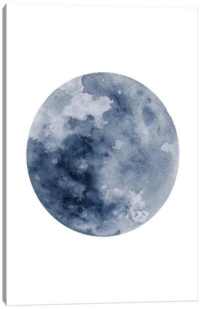 Blue Moon Canvas Art Print