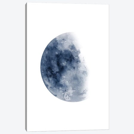 Blue Moon Waning No. 1 3-Piece Canvas #BWO3} by Brandon Wong Canvas Wall Art