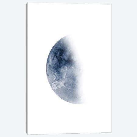 Blue Moon Waning No. 2 3-Piece Canvas #BWO4} by Brandon Wong Canvas Art Print