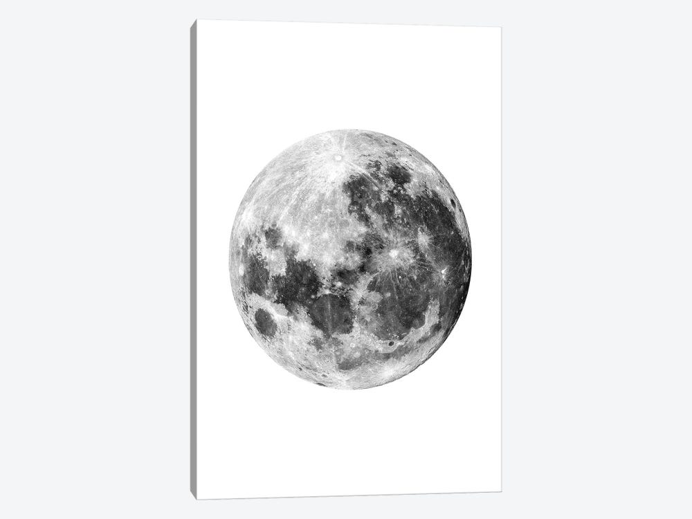Full Moon by Brandon Wong 1-piece Canvas Wall Art