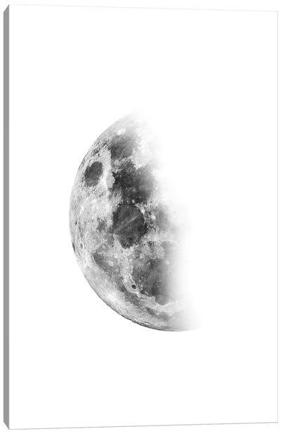 Moon Waning No. 2 Canvas Art Print