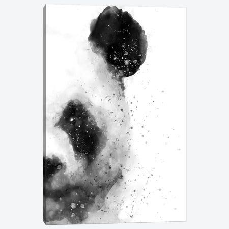 Panda At Attention Canvas Print #BWO9} by Brandon Wong Canvas Artwork
