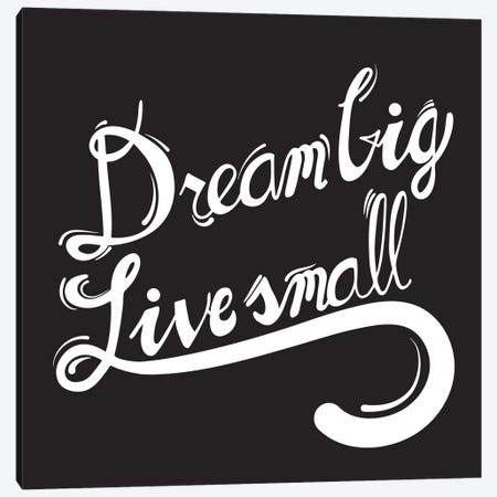 Dream Big II Canvas Print #BWQ13} by 5by5collective Canvas Art Print
