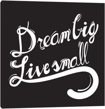 Dream Big II Canvas Print #BWQ13