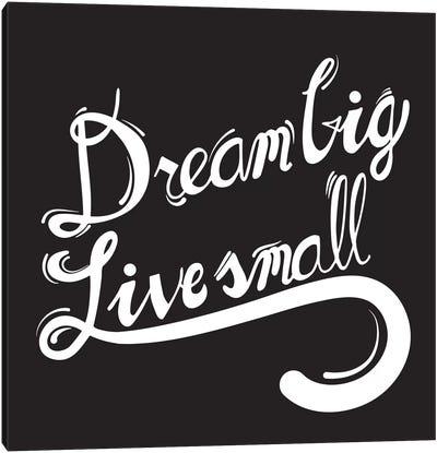 Dream Big II Canvas Art Print